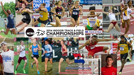16 Missourians competing at NCAA DI Indoor Track & Field Champs.