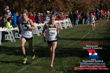 2014 MSHSAA Class 4 Sectional 1 cross country meet