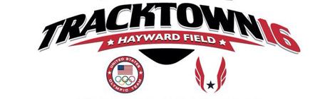 2016 USATF Olympic Trials Word Press Logo
